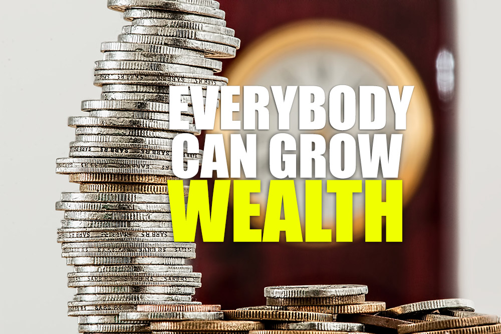 Everybody can grow wealth
